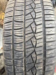 ONE 99% NEW CONTINENTAL 235/50R18 97V
