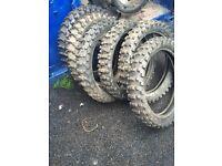 Motocross Tyers £50 for 6 Tyers