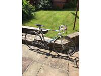 Vintage mid 1980s Peugeot Lautaret 12 Speed Road Bike