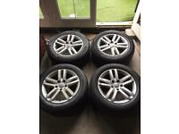 "Audi Q7 Genuine Alloy Wheels 18"" (Good Tyres)"