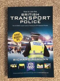 British Transport Police recruitment book