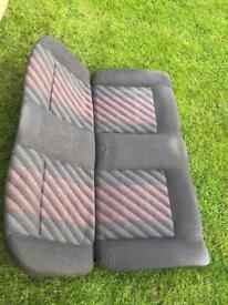 Mk2 golf Gti seats bench seat