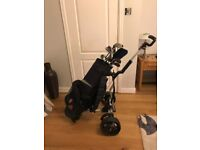 Golf clubs and trolley reduced to £18 fir quick sale