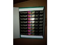 Fuji dr1 cassette tapes (New and sealed) 10 pack of 60 minutes length
