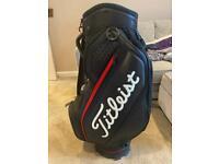 Titleist Jet Black Midsize Staff Cart Bag