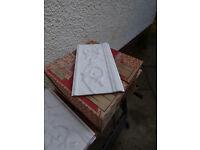 Marbled White Ceramic Tiles
