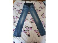 Maternity Jeans - Size 36/small