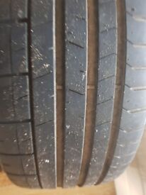 Pirelli p zero 255/30/r19 6mm tread on all four tyres