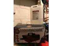 Snow machine for sale used twice