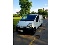 Nissan primestar excellent condition. Full years MOT excellent runner, 99000 miles on clock.