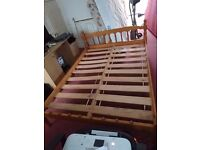 Pine Double Bed Frame - Free Delivery