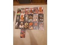 Wrestling VHS tapes. Some may be collectible according to google (WCW)