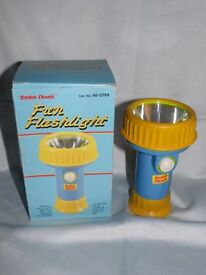 Childs flashlight - From age 4+
