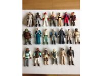 Star Wars vintage figures various