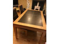Dining Table, Chairs and Matching Unit