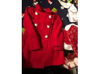 Hello kitty duffle coat