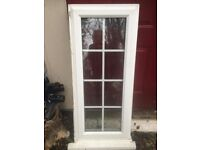 uPVC double glazed window with Georgian bars