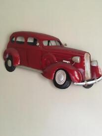 3D Wall Art Car