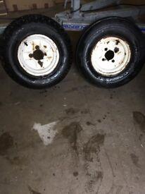 Jetski 10 Inch Trailer Wheel & Tyre Jet-Ski Boat