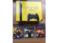 PlayStation 2 boxed console with Harry Potter games. Ps2