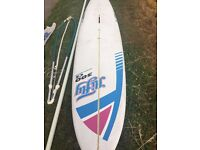 Jiffy 300CS Complete Windsurfer - board, sail and rig - About £1000 worth of kit for ONLY £75