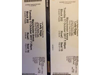 Lady Gaga Tickets x 2 Manchester 17th October
