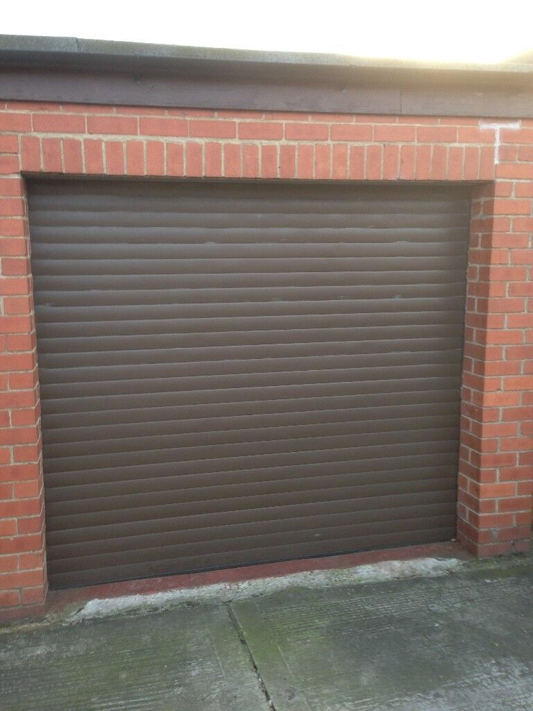 Electric Roller Garage Door With 2 Remotes In Newcastle Tyne And