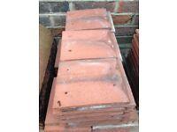 Redland Farmhouse Red concrete eaves tiles