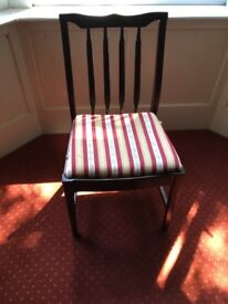 Stag Minstrel dining room table and chairs