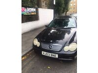 Mercedes Benz ***2003 Plate & Dirt Cheap*** Black Colour