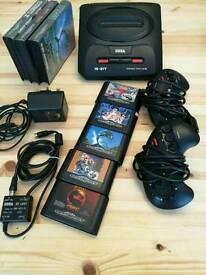 Sega megadrive 2 II 16-BIT original retro gaming