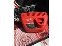 Milwaukee m12 battery charger.