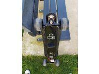Slick Revolution Electric Skateboard, Carbon deck