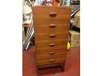 G Plan Quadrille Chest Of Drawers