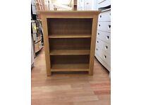 Kingsbury Small Bookcase - Oak & Oak Veneer