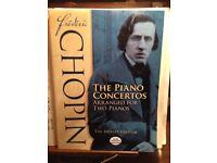 Frederic Chopin The Piano Concertos arranged for 2 pianos (Joseffy Edition)