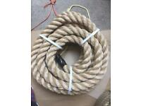 44mm synthetic decking rope x 10 metres, brand new, garden projects, handrail & barrier ropes