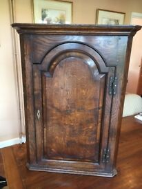 Reproduction corner cupboard