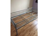 Bed frame - metal. Used but in a good condition