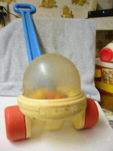 Fisher Price Corn Popper #2011 Push/Pull Toy