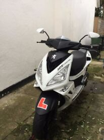 Peugeot SPEEDFIGHT 3 50 LC E 2011 for sale good condition MOT to March 2018