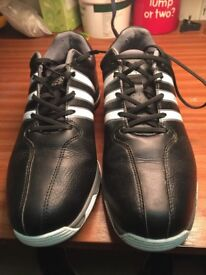Adidas 360 Traxion Golf Shoes Size 9 For Sale . Adidas Shoe Bag Included