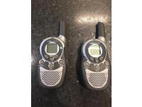 Walking talkie set radio communication device