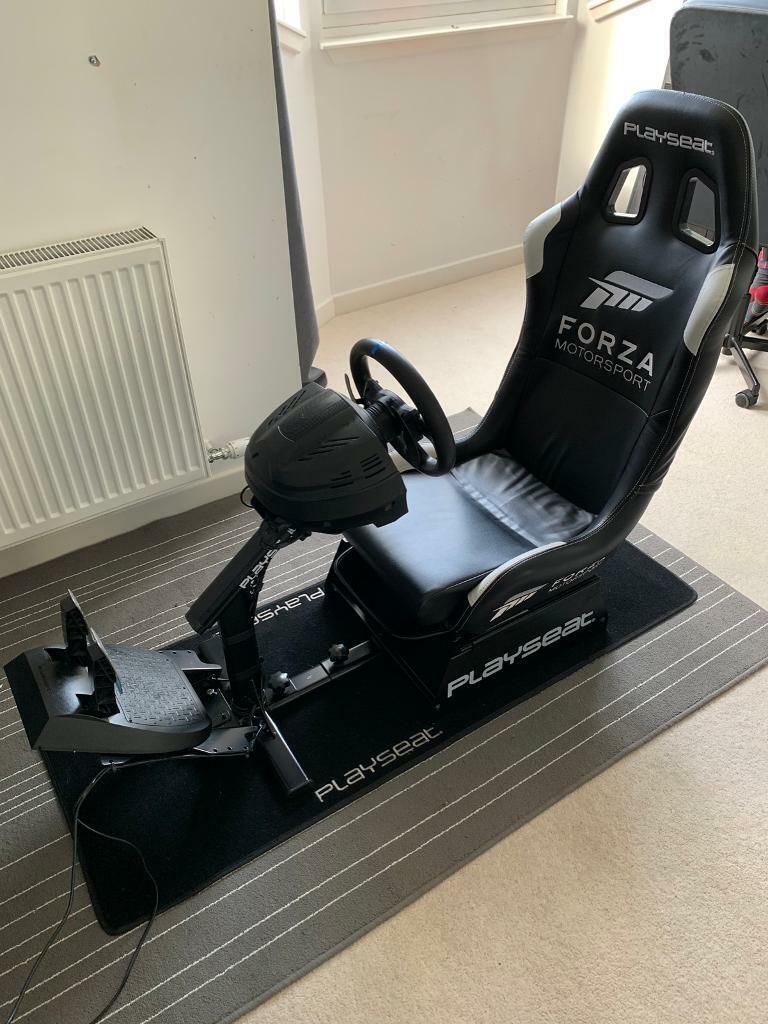 Super Playseat Forza Thrustmaster T300Rs Racing Wheel Gaming Chair In Edinburgh Gumtree Short Links Chair Design For Home Short Linksinfo