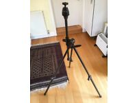 Tripod Uniloc Universal for stills cameras c/w Uniloc 30 ball and socket head