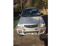Daihatsu terios very low mileage !