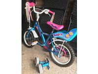 Kids Apollo Pom pom bike suitable age 4-6