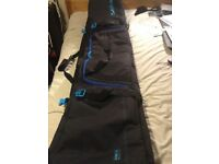 Wheeled snowboard or ski bag 170cm and 175cm
