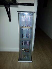 CD/DVD/Book Tower Storage