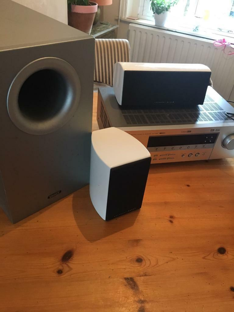 Speakers, amp, sub bass speaker, surround speaker